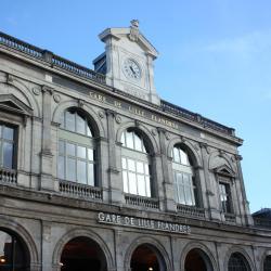 สถานีรถไฟ Lille Flandres Railway Station