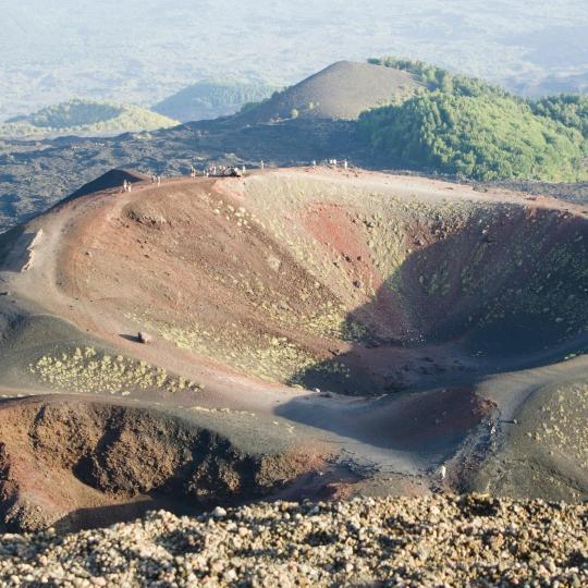 การเดินทางบน Mount Etna