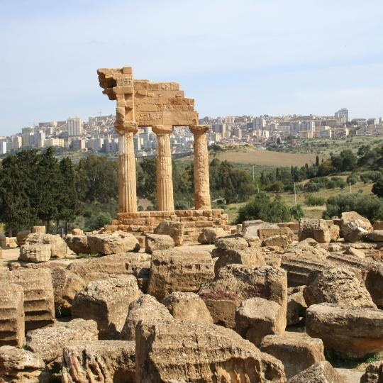 Agrigento และ Valley of the Temples