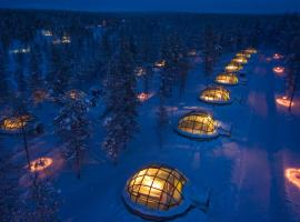 Kakslauttanen Arctic Resort - Igloos and Chalets, ซาริเซลกา