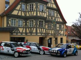 Hotel Restaurant Krone, Langenburg