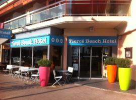 Citotel Hôtel Tiercé Beach Hotel, Cagnes-sur-Mer