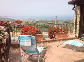 Villa Panoramica con Piscina, Altavilla Milicia