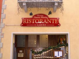 Hotel Porta Santa Maria, Busca