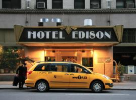 Hotel Edison, นิวยอร์ก