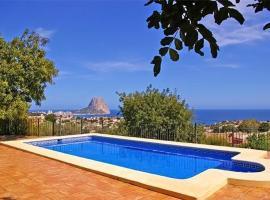 Apartment near the beach, mountain view in Calpe, La Canuta