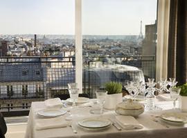 Vue sur les toits de Paris - Chat noir design Hotel, ปารีส