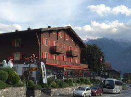 Hotel Tourist, Fluelen
