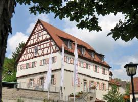 Hotel & Restaurant Altes Amtshaus, Mulfingen-Ailringen