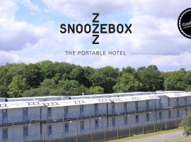 Snoozebox Silverstone Hotel, Silverstone