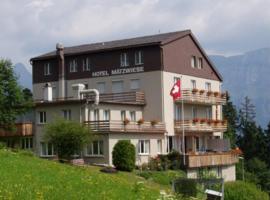 Hotel Garni Maetzwiese, Flumserberg