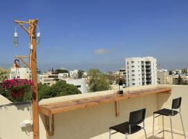 Rooftop Studio in downtown Herzliya, Herzelia