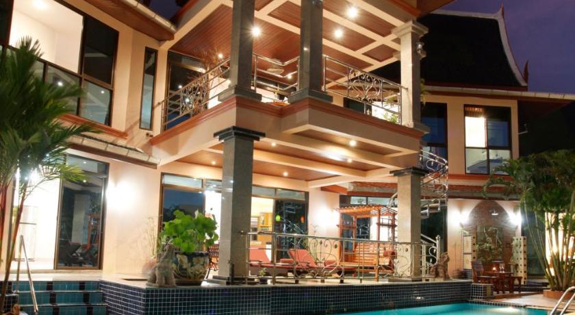 卡塔豪华海景别墅带私人泳池和厨师