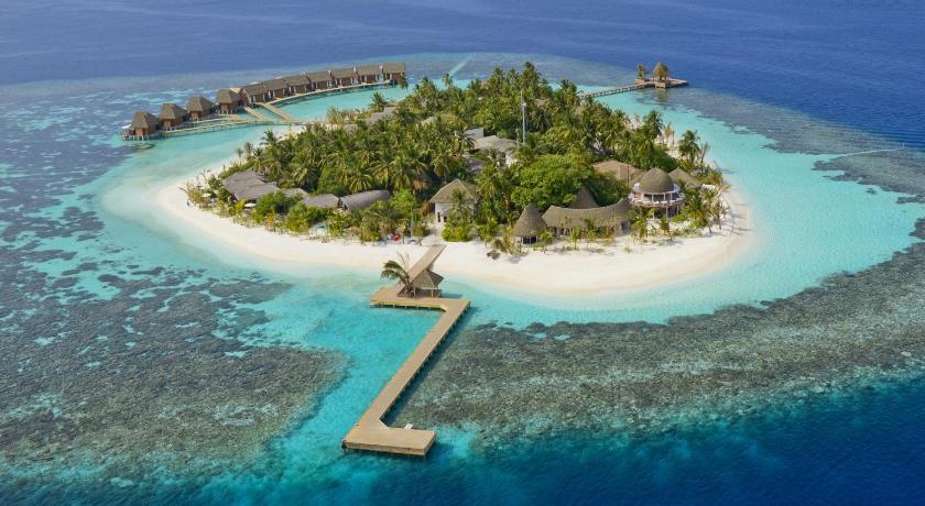Kandolhu Island Maldives 5* лучший курортный отль для снорклинга на мальдивах