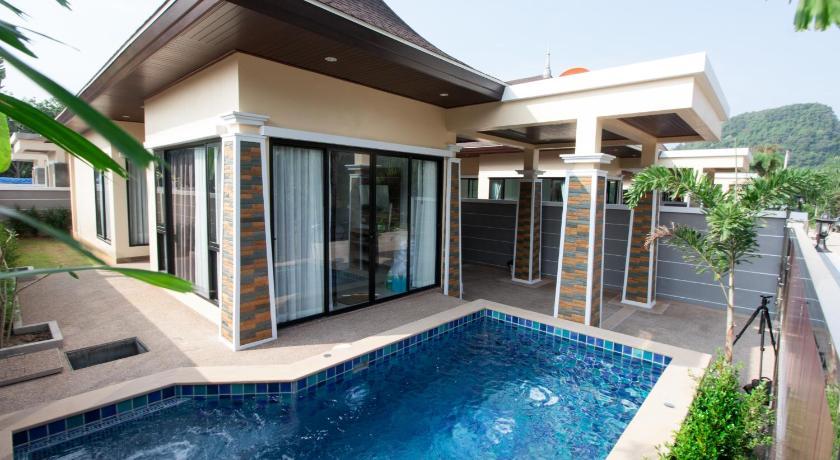 Oscar pool privati vila Tailande, Krabi
