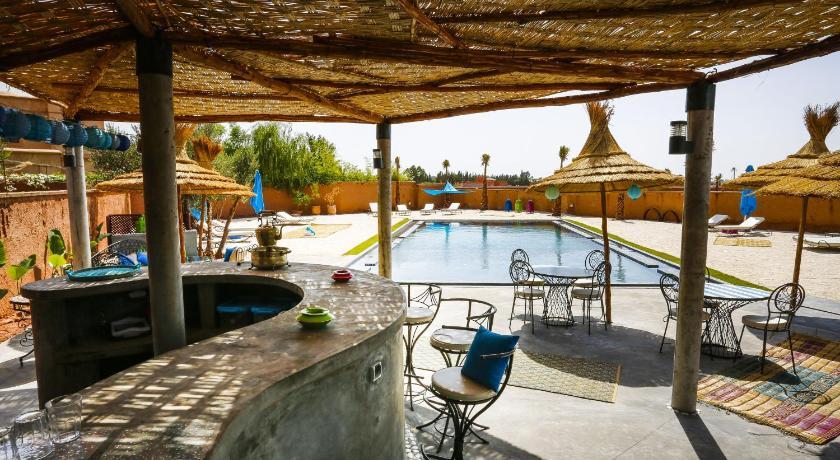 Riad tchina mandarina marrakech morocco great for Bab hotel marrakech piscine