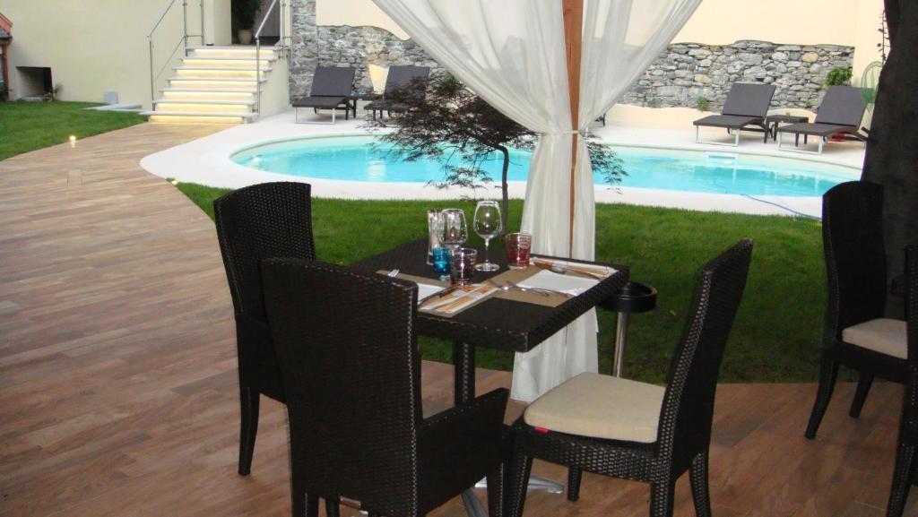 Quanto è una villa con piscina a Domodossola