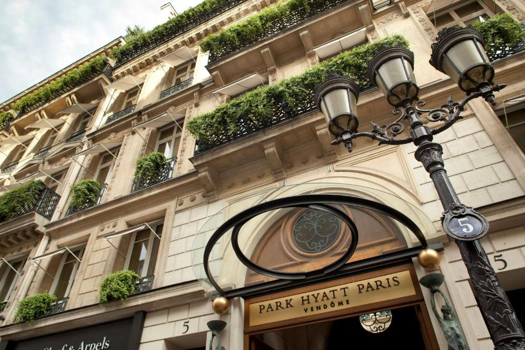 Park Hyatt Paris Vendome.