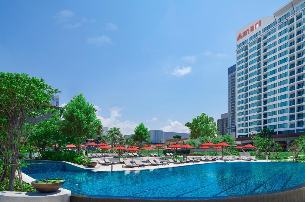 สระว่ายน้ำที่อยู่ใกล้ ๆ หรือใน Amari Pattaya