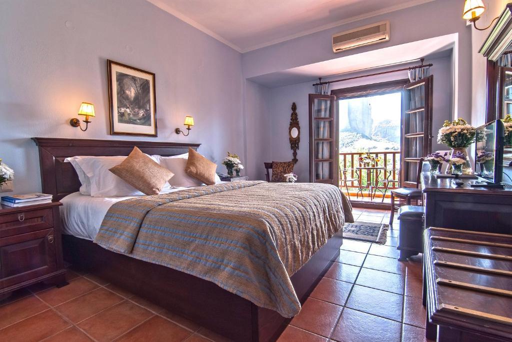 ギリシャ,カランバカ,ドウピアニ ホテル(Hotel Doupiani House)