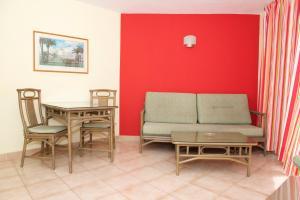 พื้นที่นั่งเล่นของ Apartamentos Morasol