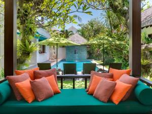 พื้นที่นั่งเล่นของ Villa Shinta Dewi Seminyak - an elite haven