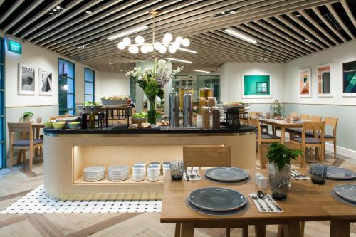 ห้องอาหารหรือที่รับประทานอาหารของ Fraser Place Robertson Walk Singapore