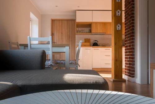 ครัวหรือมุมครัวของ Apartamenty Sami Swoi