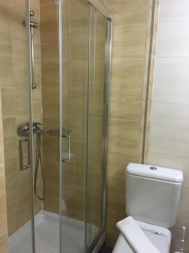 ห้องน้ำของ Jason Hotel Apartments