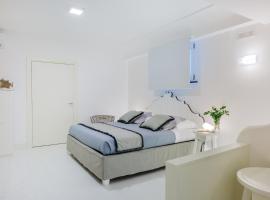 White stylish apartments