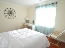 [3F] Cozy Queen Bedroom with Private Bath near SFO, เซาธ์ซานฟรานซิสโก