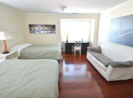 [3C] Large Double Queen-Bed Room near SFO, เซาธ์ซานฟรานซิสโก
