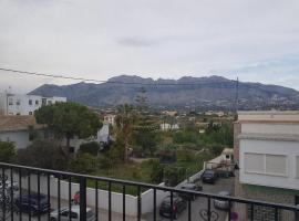 Apartamento con vistas a la montaña, Altea