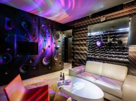 The Invisible Hotel - Media Art Room
