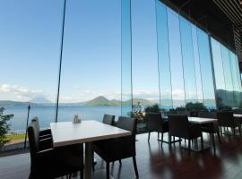 The Lake View Toya Nonokaze Resort, ทะเลสาบโทยะ