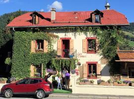 Hôtel Les Cimes, เมอเชฟ