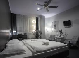 The Invisible Hotel — Black & White Room