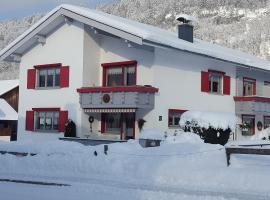 Appartements Gästehaus Monika, Bezau