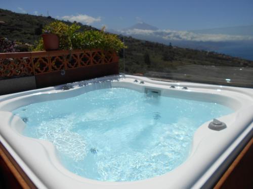 Tenerife Sauzal Teide Y Mar